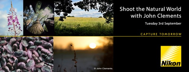 Shoot the Natural World Event With John Clements.