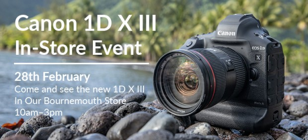 Cancelled - Canon EOS 1DX III Touch and Try Day