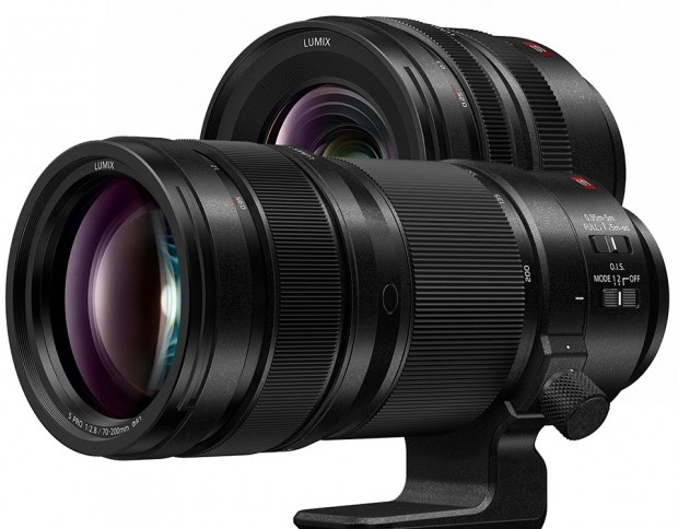 Two new L-mount Lumix S-PRO lenses from Panasonic! 70-200mm and 16-35mm