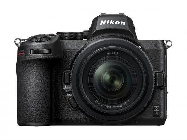 New from Nikon, the Z5 full frame mirrorless camera