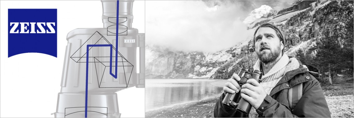 Zeiss optics: favoured by Photographers, Videographers and Nature Observers.
