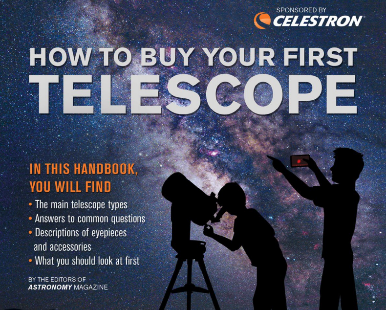 Main telescope types.  Answers to common questions.  What to look at first.