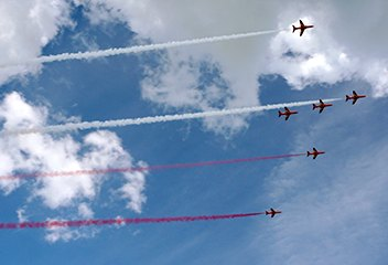 The Bournemouth Air Festival is held annually at the end of August and provides a wealth of photo opportunities