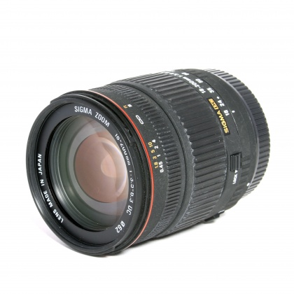 Used Sigma 18-200mm f3.5-6.3 for Canon EOS