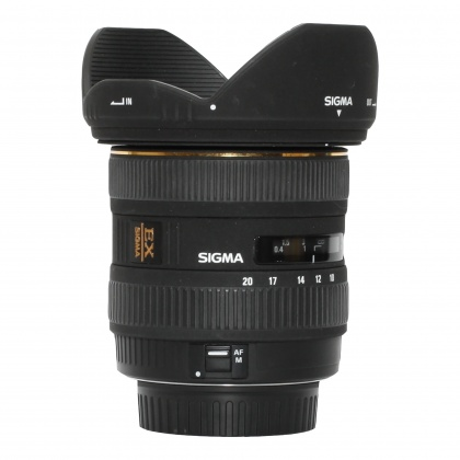 Used Sigma 10-20mm f4-5.6 for Canon EOS