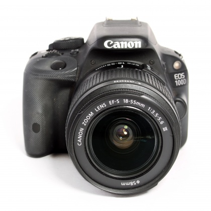 Used Canon EOS 100D, 18-55mm III