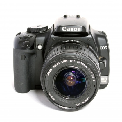 Used Canon EOS 400D Body with 18-55mm f3.5/5.6