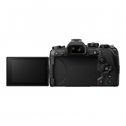 Olympus OM-D E-M1 Mark III Mirrorless Camera with 12-40mm Pro Lens, Black