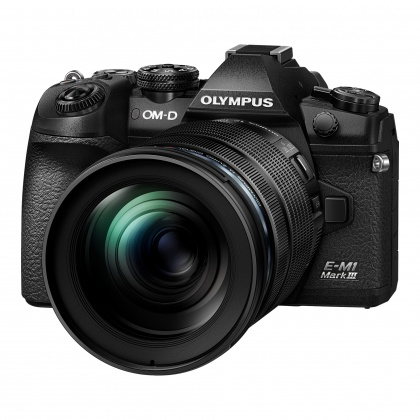 Olympus OM-D E-M1 Mark III Mirrorless Camera 12-100mm kit, Black