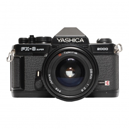 Used Yashica FX-3 Super with Tokina 28mm f2.8