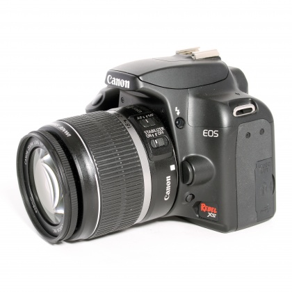 Used Canon EOS 1000D (Rebel XS), 18-55mm IS