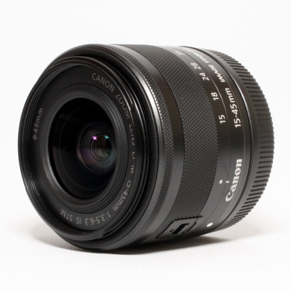 Used Canon EF-M 15-45mm f3.5-6.3 IS STM