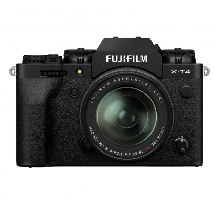 Fujifilm X-T4 Kit with 18-55mm lens, Black
