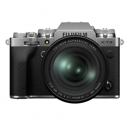Fujifilm X-T4 Kit with XF 16-80mm lens, Silver