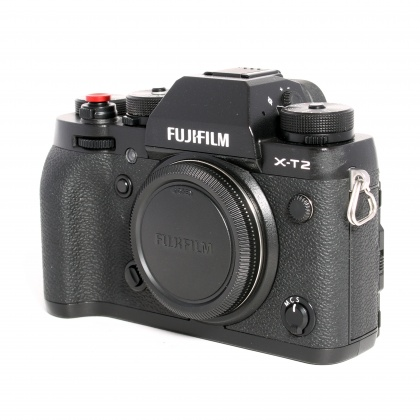 Used Fujifilm X-T2 body, black