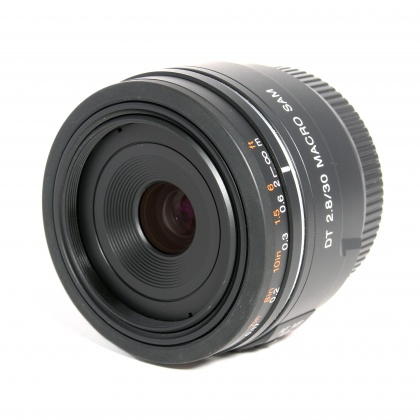 Used Sony DT 30mm f2.8 Macro SAM for Sony A mount