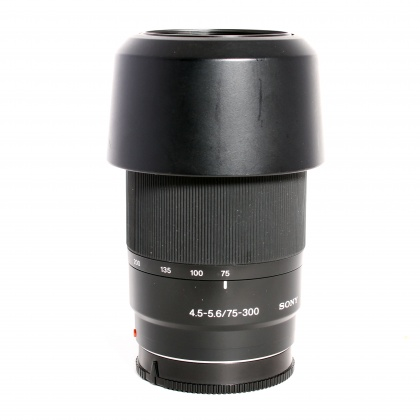 Used Sony DT 75-300mm f4.5/5.6 for Sony A mount