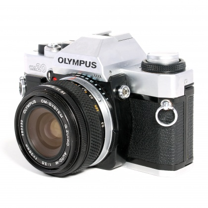 Used Olympus OM-20 with 28mm f3.5