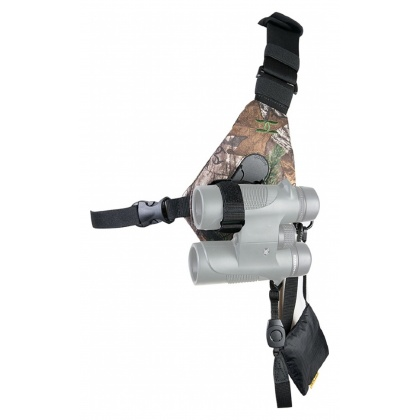 Cotton Carrier Binocular Harness SKOUT camo