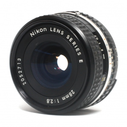 Used Nikon 28mm f2.8 E series (manual focus)