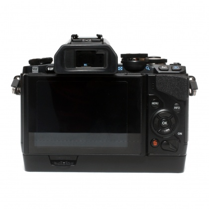 Used Olympus OM-D EM-10 body and Grip