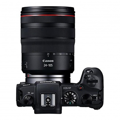 Canon EOS RP with RF 24-105mm F4 L IS USM lens
