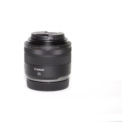 Used Canon RF 35mm f/1.8 Macro IS STM