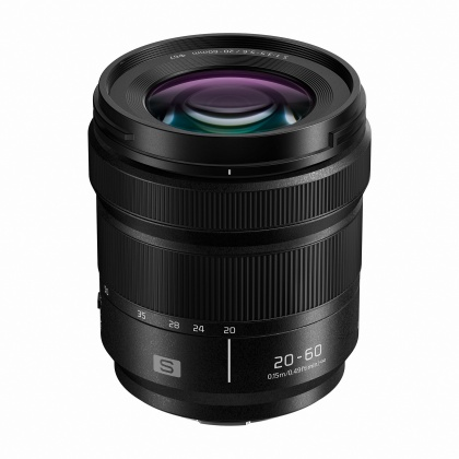 Panasonic Lumix S 20-60mm F3.5-5.6 lens for L-mount
