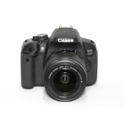 Used Canon EOS 650D, 18-55mm