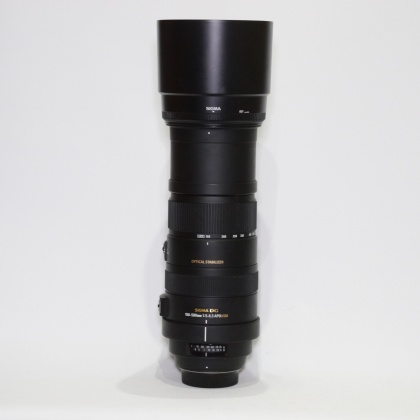 Used Sigma 150-500mm f5-6.3 DG OS APO HSM for Nikon
