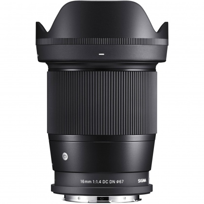 Sigma 16mm f1.4 DC DN C Lens for L Mount