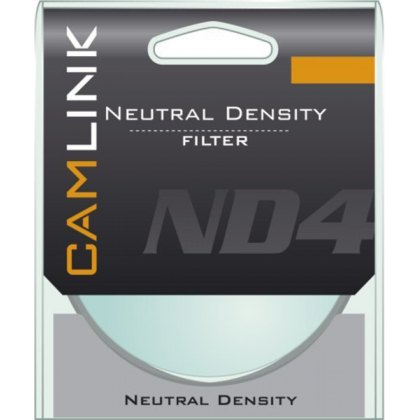 Camlink Neutral Density filter ND4, 58mm