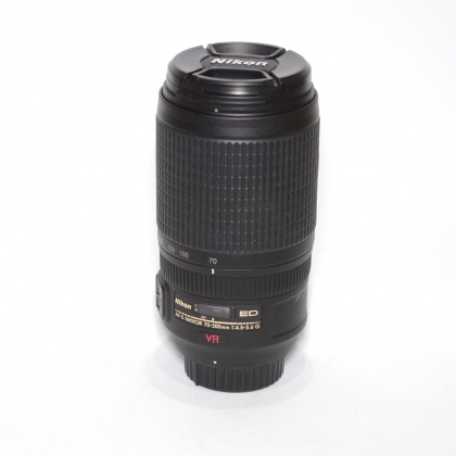 Used Nikon AF-S 70-300mm f4.5-5.6G IF-ED VR