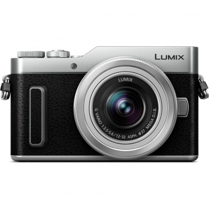 Panasonic Lumix DC-GX880 camera with 12-32mm zoom lens, Silver, Re-boxed