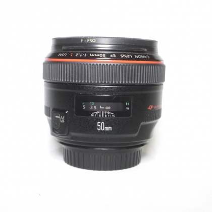 Used Canon EF 50mm f1.2L USM