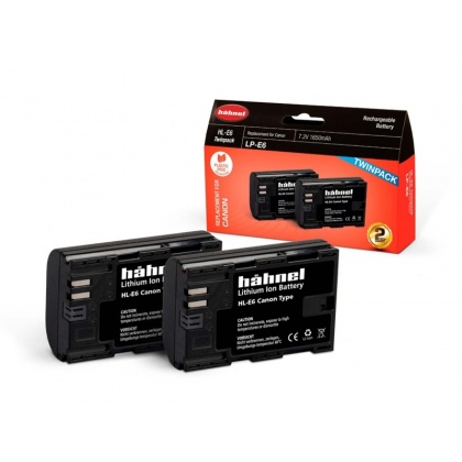 Hahnel HL-E6 Twin Battery Pack for Canon