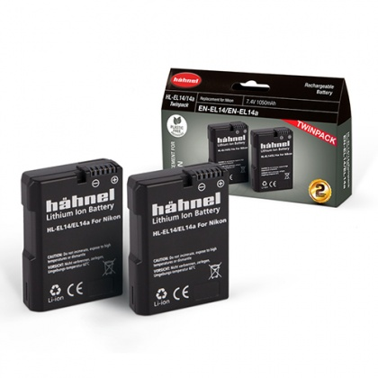 Hahnel HL-EL14 Twin Battery Pack for Nikon