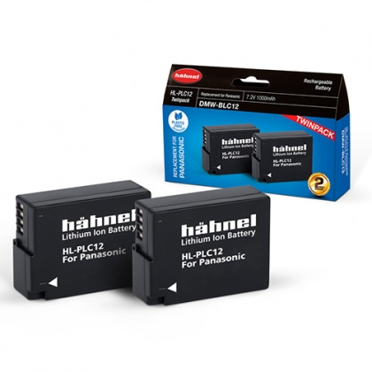 Hahnel HL-PLC12 Twin Battery Pack for Panasonic