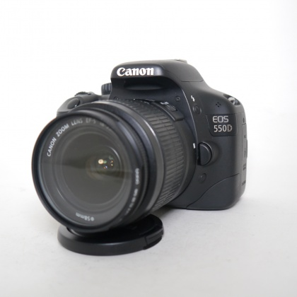 Used Canon EOS 550D with 18-55mm F3.5-5.6 MkIII