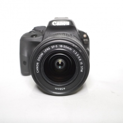 Used Canon EOS 100D + 18-55mm IS STM