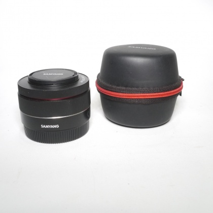 Used Samyang  AF 35mm F2.8 lens for Sony FE