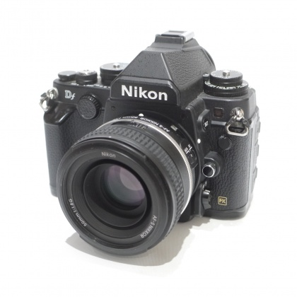 Used Nikon Df Black with 50mm f1.8 special edition