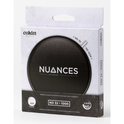 Cokin 82mm Nuances Variable ND 32-1000, 5 to 10 stops