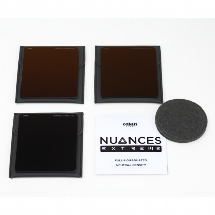 Cokin P Nuances Extreme Full ND kit (ND8, ND64, ND1024) M Size