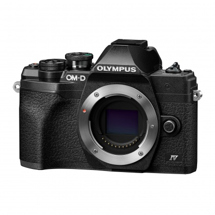 Olympus OM-D E-M10 Mark IV Mirrorless Camera Body, Black