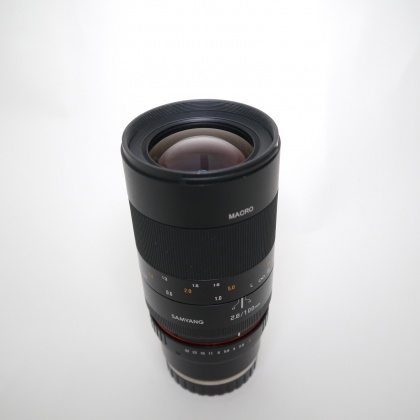 Used Samyang 100mm F2.8 ED UMC Macro for Sony FE