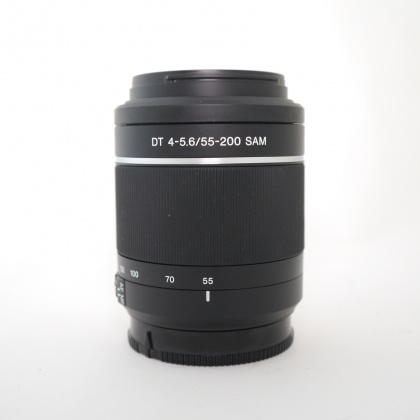 Used Sony DT 55-200mm f4-5.6, A Mount