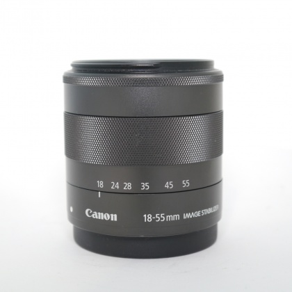 Used Canon EF-M 18-55mm f3.5-5.6 IS STM
