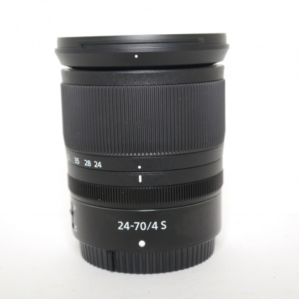 Used Nikon NIKKOR Z 24-70mm f4 S, white box