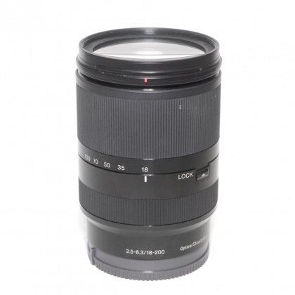 Used Sony E 18-200mm F3.5-6.3 OSS LE